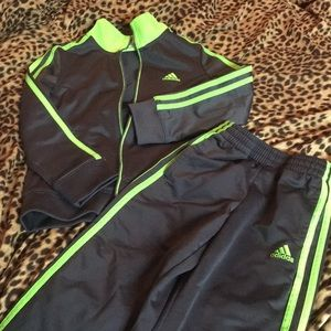 Adidas boys track suit